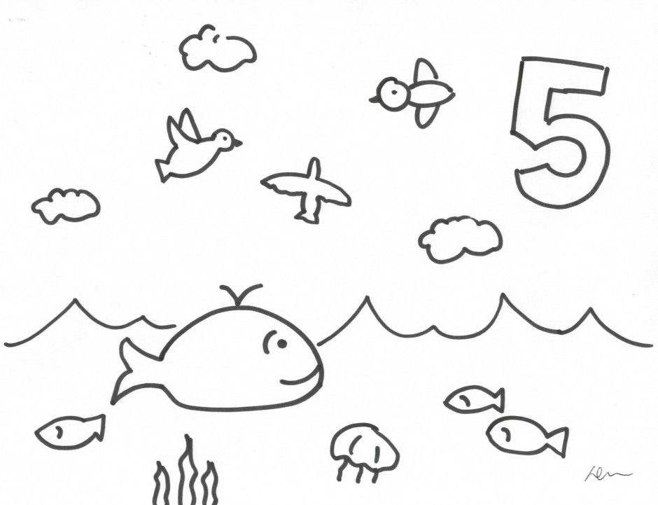 Coloring Pages Gods Creations Days | Creation coloring ...