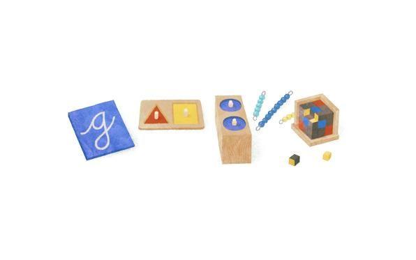 147º aniversario del nacimiento de María Montessori