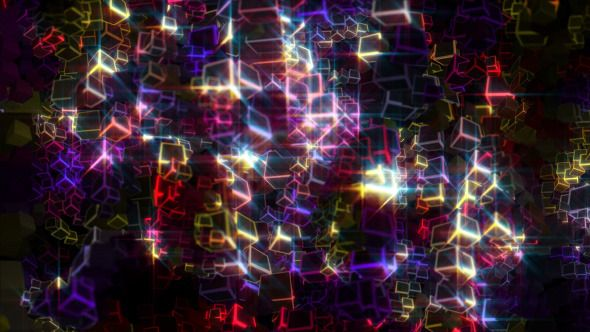 glowing cubes particles 2 pinterest cube