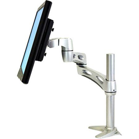 Ergotron 45 235 194 Neo Flex Extend Lcd Arm Silver Products Lcd Monitor Desk Accessories