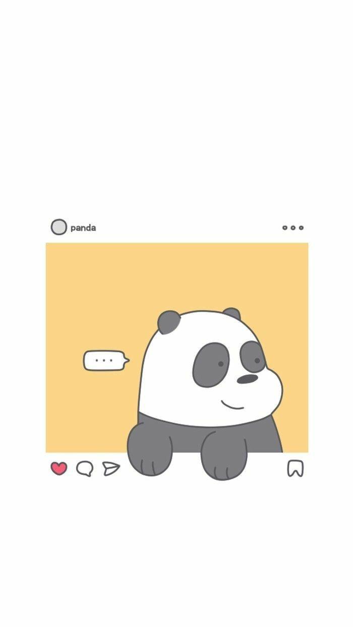 Au Dessus De La Collection De Fonds D Ecran Bear Bears In 2020 We Bare Bears Wallpapers Bear Wallpaper Cute Panda Wallpaper
