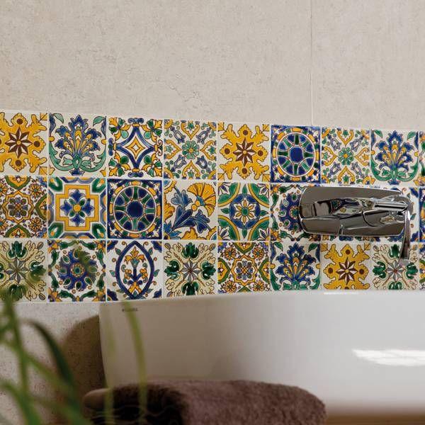 Céramique Tunisie Carreaux Décorés à La Main Dorémail Dorémail - Faience cuisine et tapis berbere tunisien