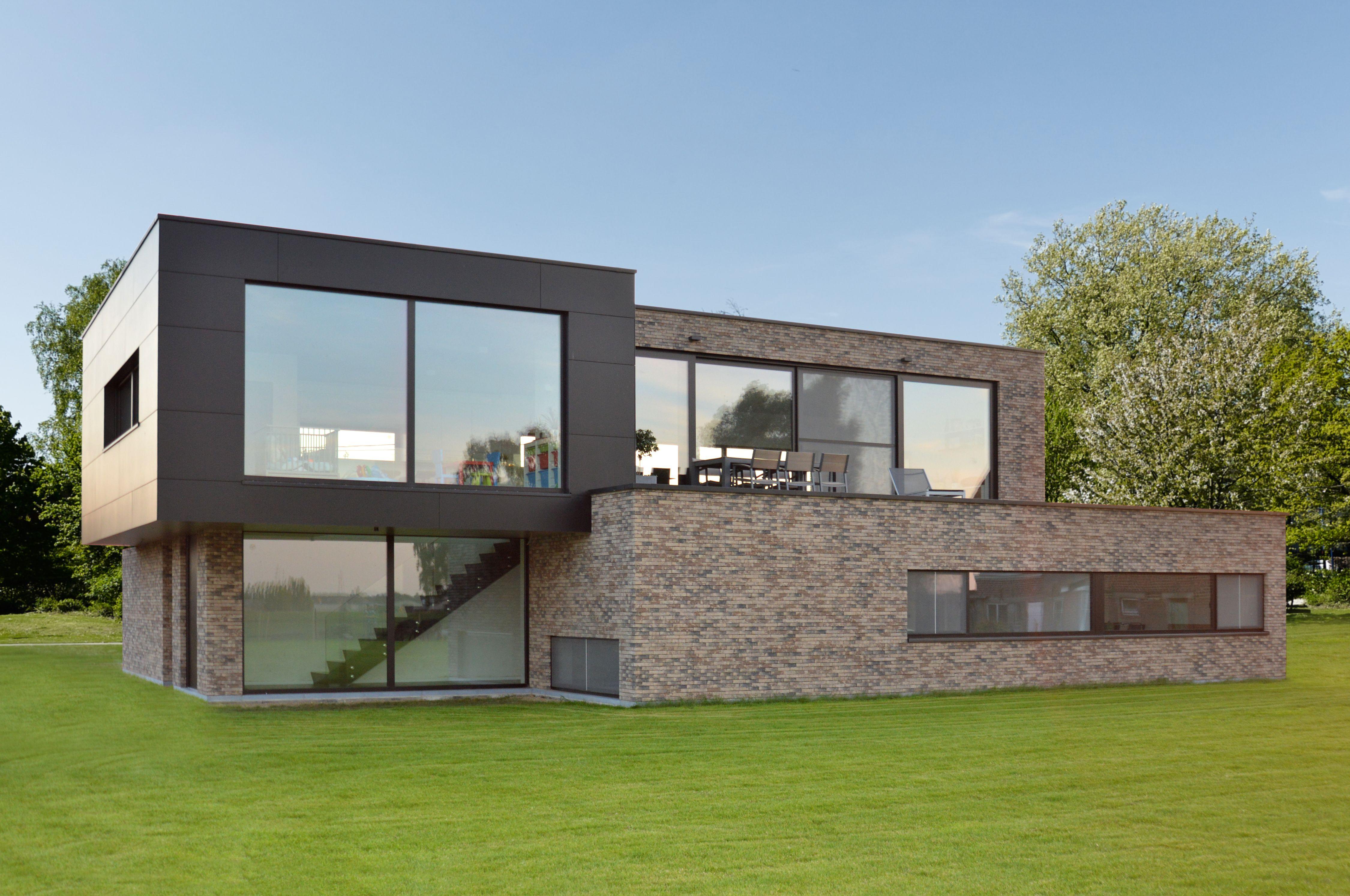Hedendaagse bel etage ben woning huisje pinterest house