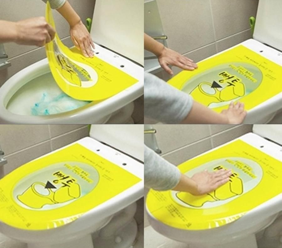 Pongtu Sticker Toilet Plunger Unclogs Toilets By Pushing Down On ...