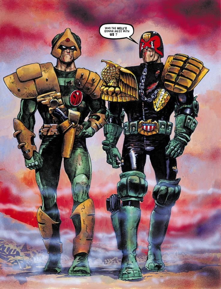 Image result for dredd judgement day
