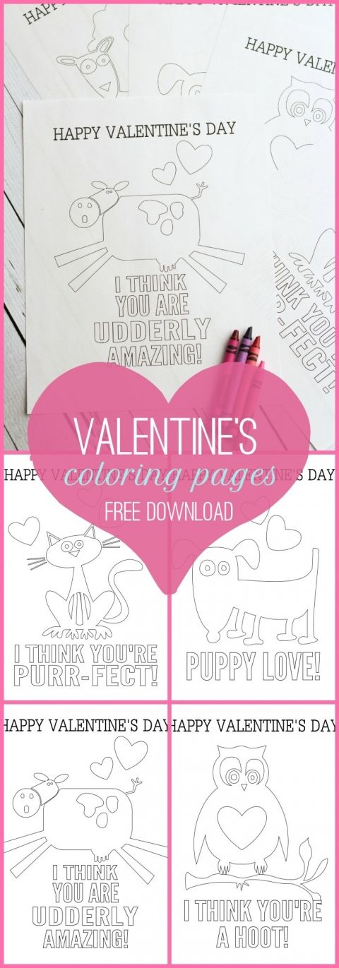free valentines day coloring pages on lillunacom the kids will love coloring