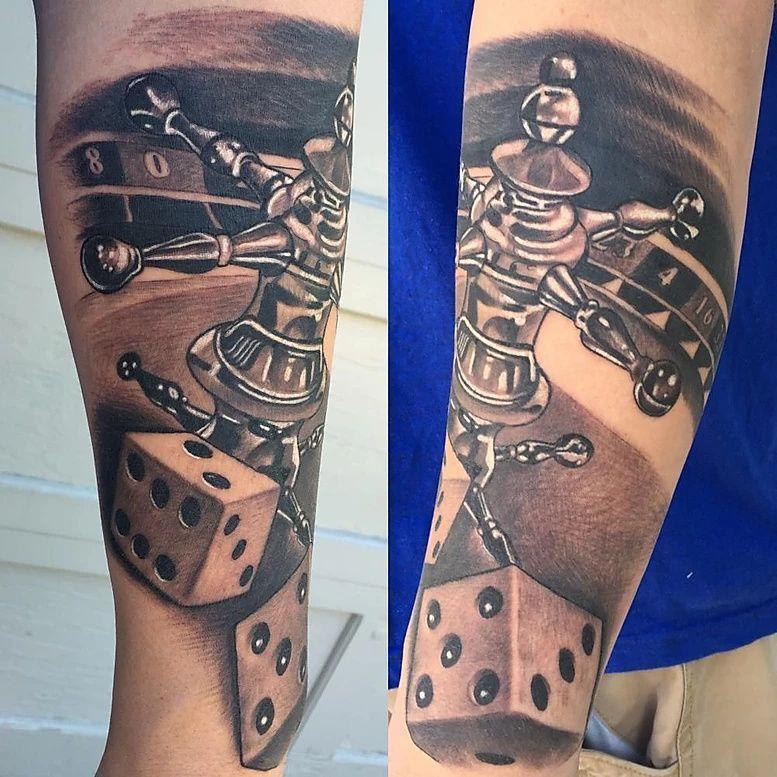 Las Vegas Tattoo Artist Ryan Jenkins of Seven Tattoo Top
