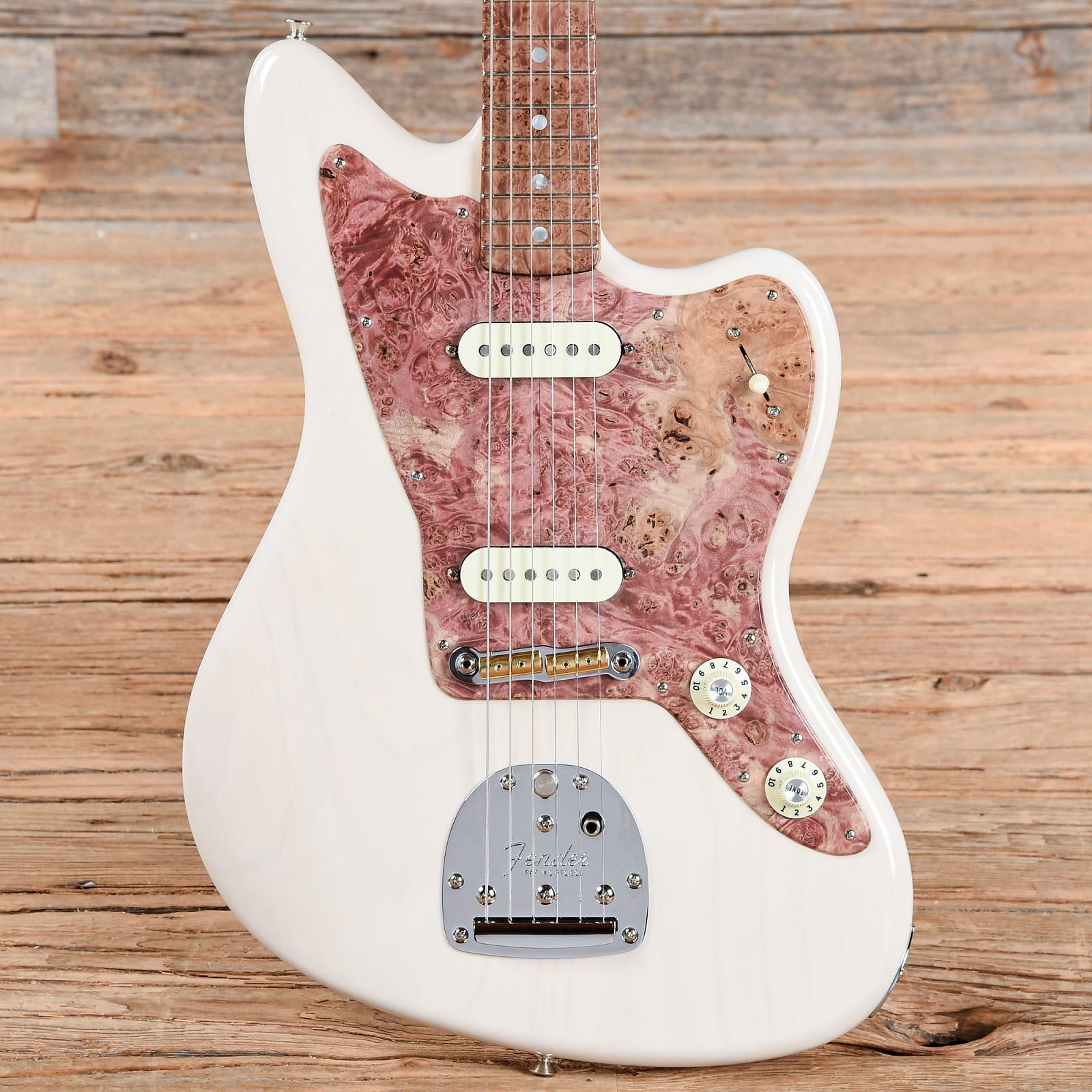 Fender Custom Shop Founders Design George Blanda Jazzmaster White Blonde (Serial #GB1376) USED #electricguitars