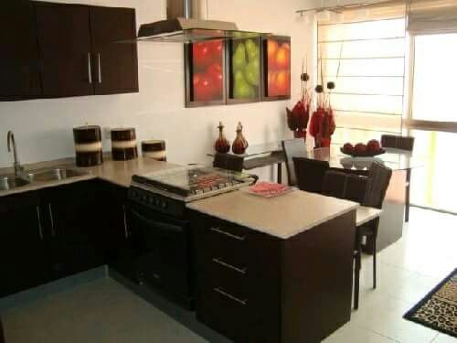 Decoraci n para apartamentos peque os cocinas for Cocinas para apartamentos pequenos