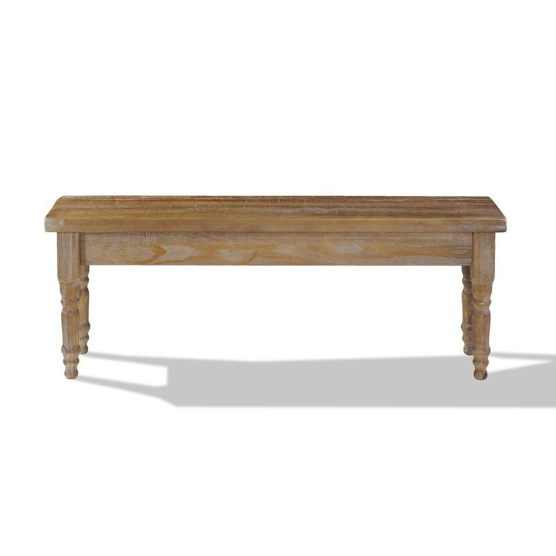 Valerie Wood Bench In 2020 Wood Bench Solid Wood Benches Solid Wood Dining Table