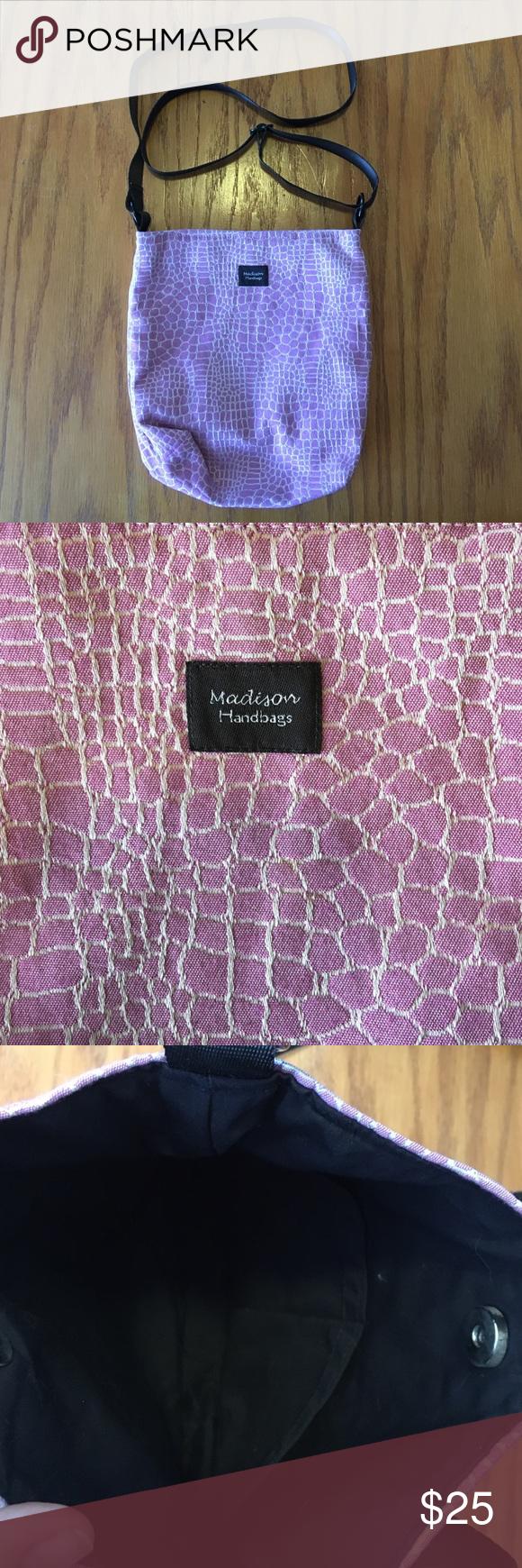 b11979dfed8b Madison Handbags Crossbody bag  made in USA Handmade in Troy