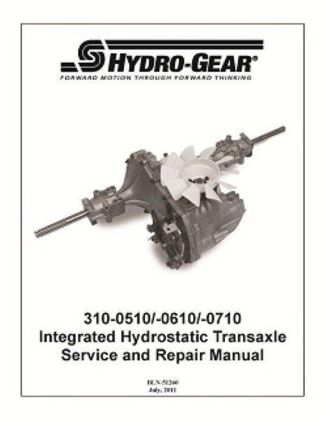 Transaxle 618-0319/918-0319/310-510 HYDRO GEAR OEM HYDRAULIC