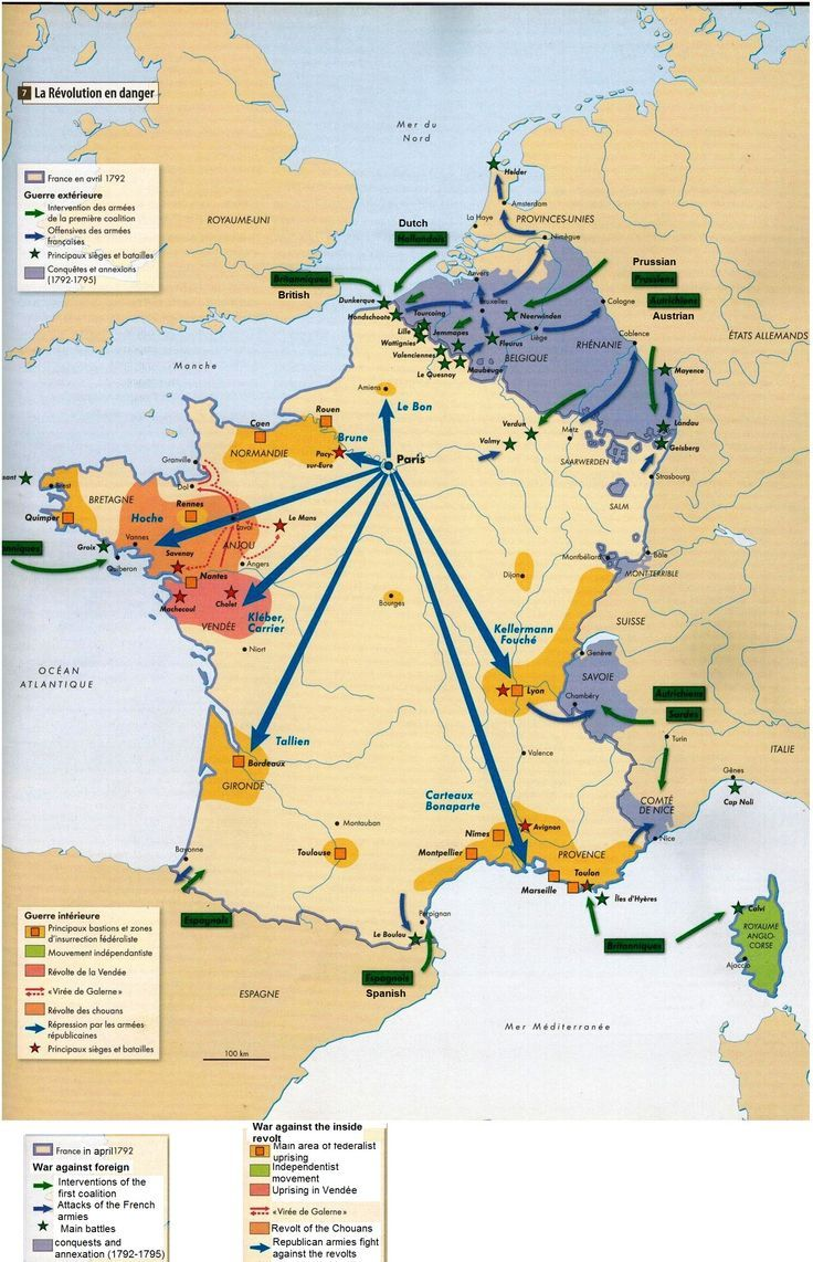 French revolution map secondary social studies pinterest french revolution map gumiabroncs Image collections