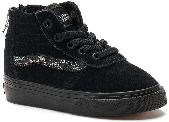a50b55fb76c Vans My Maddie Zip Toddler Girls  High Top Sneakers
