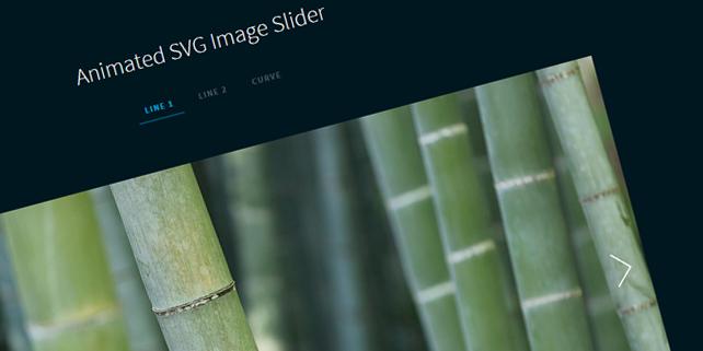 Responsive SVG image slider A simple, responsive SVG