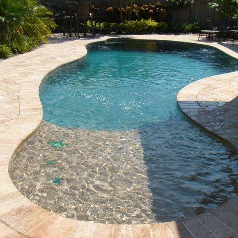 inground pools for small yards | Small inground pool ...