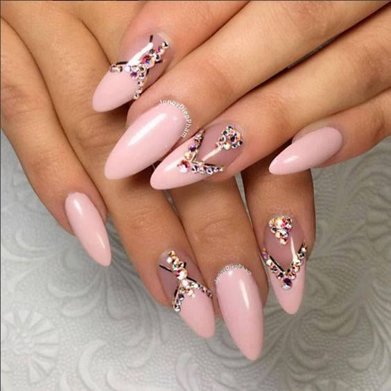 2017 - Best Nail Trends To Try | nagels | Pinterest | Nail ... Almond Nagels