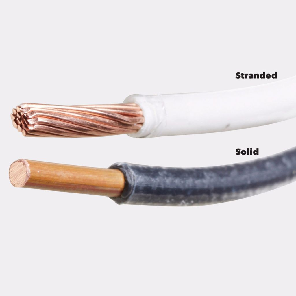 Stranded Vs Solid Wire >> Home Wiring Demystified Electrical Cable Basics You Need To Know