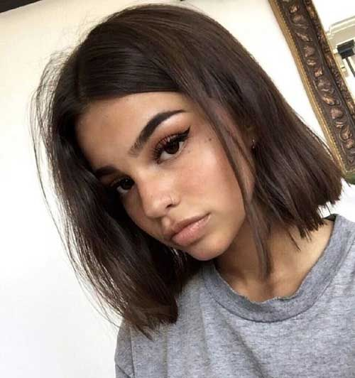 15+ Kurze dünne Frisuren, zum weiblich leicht zu sein | Trend Bob Frisuren 2019 #coolgirlhairstyles