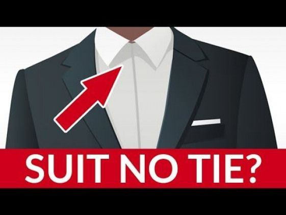 5 Tips For Breaking The Rules The RIGHT Way | How To Wear A Suit Without A Tie 5 Tips For Breaking The Rules The RIGHT Way | How To Wear A Suit Without A Tie
