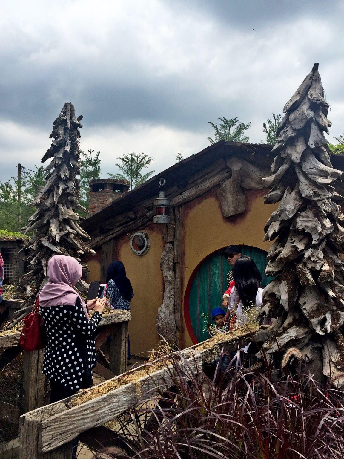 Hobbit House at Farm House Lembang Bandung Indonesia