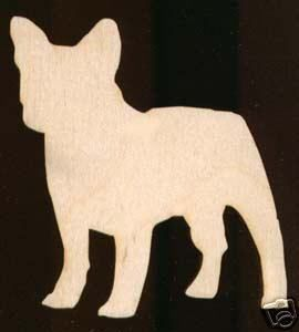 Dog French Bulldog Unfinished Wood Cutout 1053 3 5 Ebay Wood