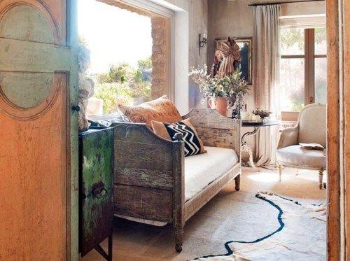 Provenzal living room