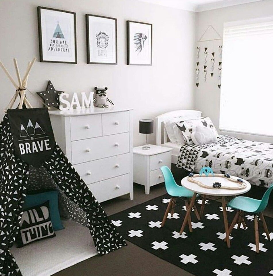 20 Modern Boys Bedroom Ideas (Represents Toddler's