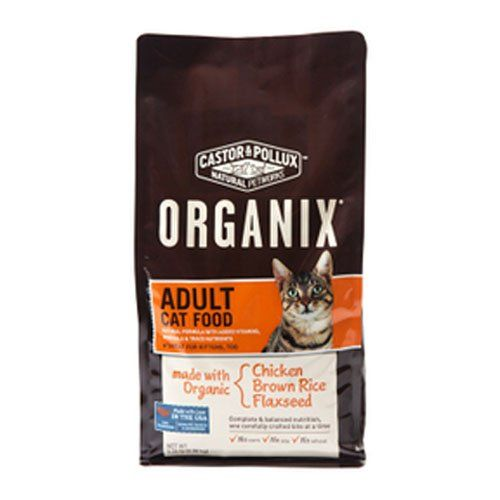 Castor Pollux Organix Adult Dry Cat Food 525 Pound Bag