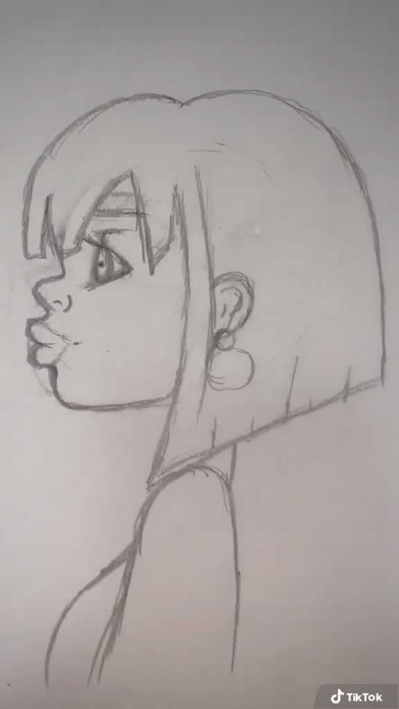 Photo of How I Draw Side Profile Faces