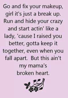 Broken heart love song
