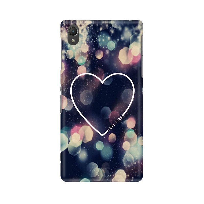Love Pink Phone Case for Sony Xperia Z5