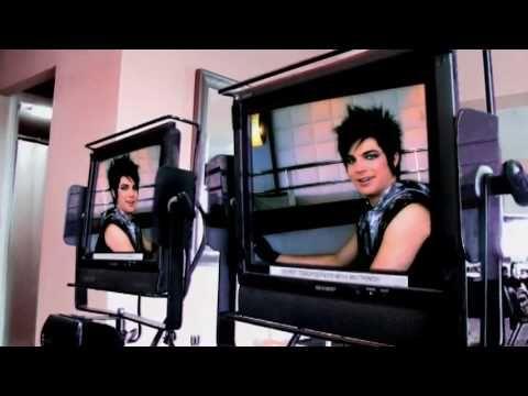 Adam Lambert Behind the Scenes of the VEVO commercial shoot