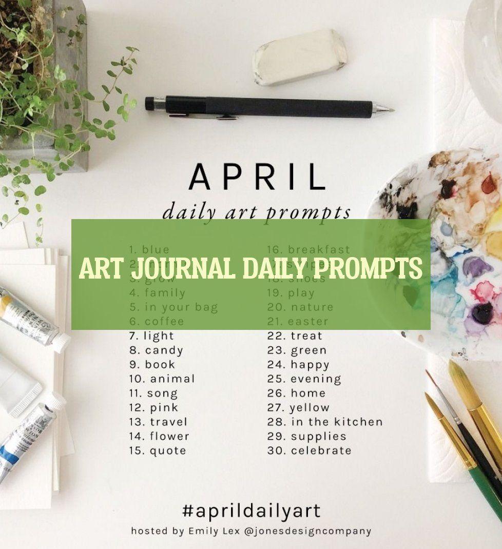 Art Journal Daily Prompts Kunstjournal Tägliche Aufforderungen