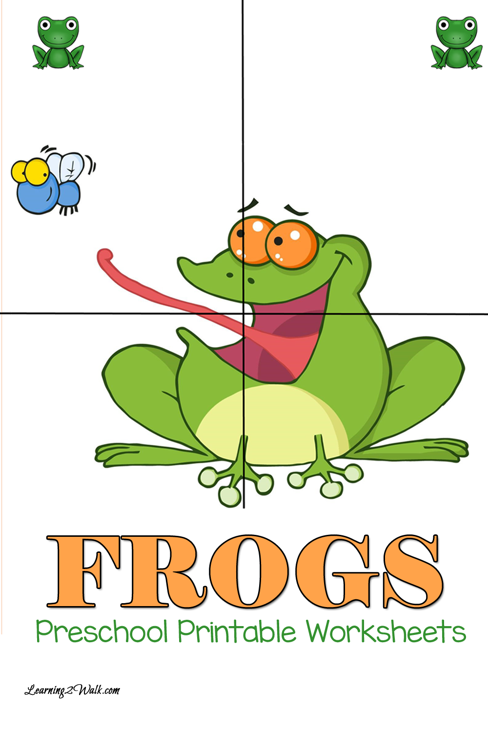 Free Preschool Printable Worksheets: Frog | Frogs preschool ...