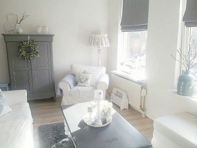 Landelijk brocante woonkamer living rooms woonkamers for Brocante woonkamer