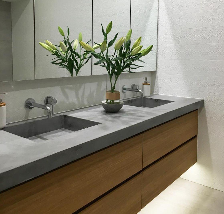 Top Mount Bathroom Sink Wood Countertops