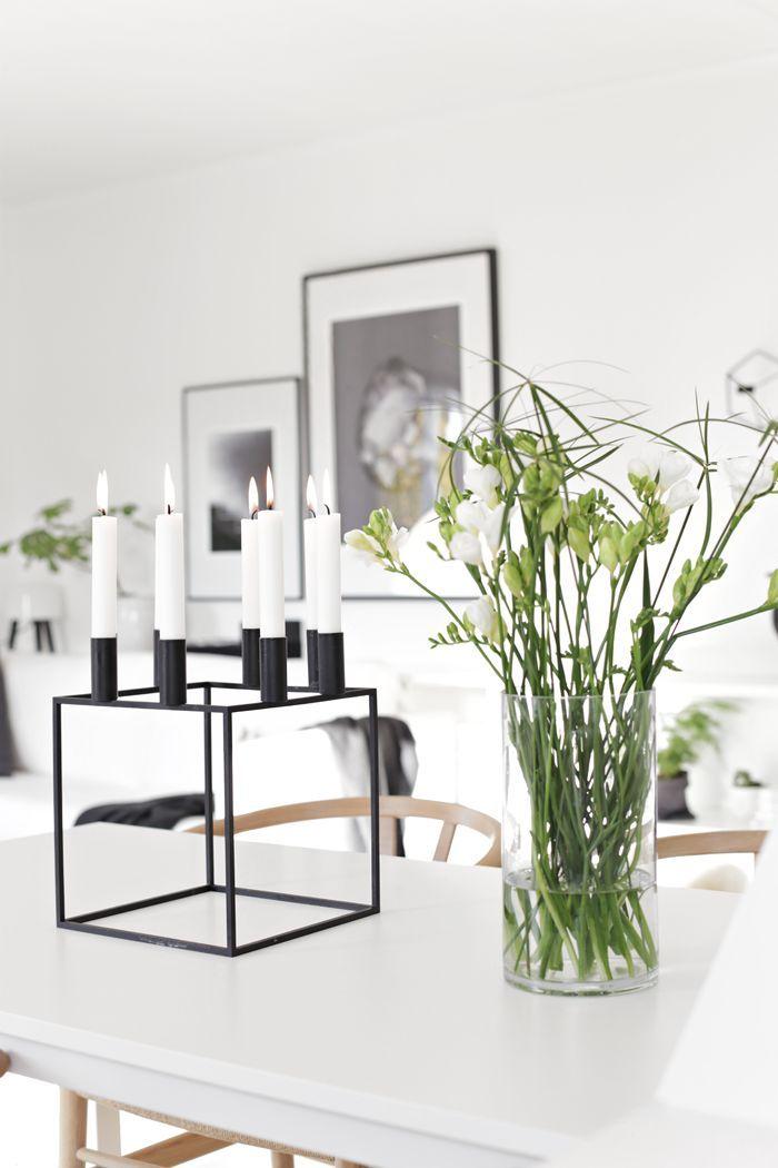 White Surroundings And Kubus 8 Candleholder | Wohnzimmer Einrichtung |  Pinterest | Wohnzimmer Und Einrichtung