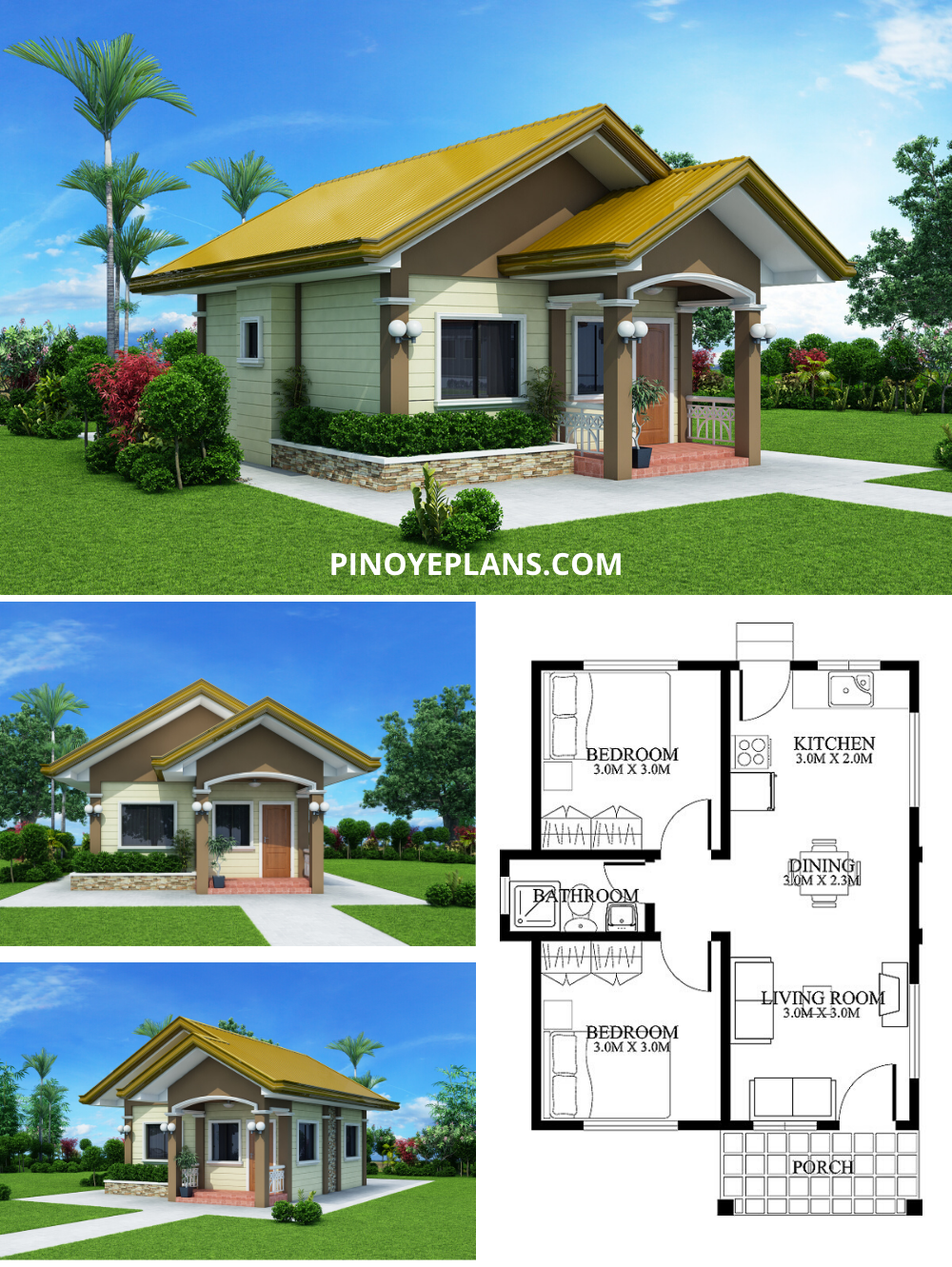 Small House Designs Shd 2012001 Pinoy Eplans Small House Design Philippines House Design Small House Model