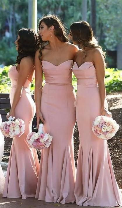 Mermaid Long Bridesmaid Dress,Custom Made Wedding Party Dress YDB0032 - Mermaid long bridesmaid dresses, Blush pink bridesmaid dresses, Wedding party dresses, Mermaid bridesmaid dresses, Long bridesmaid dresses, Bridesmaid - chiffon etc  Back available in lace up or zipper  Lining fully lined and boned   2 Size(How to Measure) Standard SizeJust leave your size choice in the note at the checkout page  Size 2(inch) Bust32 5 Waist25 5 Hips35 75 Hollow to Floor58 Size 4(inch) Bust33 5 Waist26 5 Hips36 75 Hollow to Floor58 Size 6(inch) Bust34 5 Waist27 5 Hips37 75 Hollow to Floor59 Size 8(inch) Bust35 5 Waist28 5 Hips38 75 Hollow to Floor59 Size 10(inch) Bust36 5 Waist29 5 Hips39 75 Hollow to Floor60 Size 12(inch) Bust38 Waist31 Hips41 25 Hollow to Floor60 Size 14(inch) Bust39 5 Waist32 5 Hips42 75 Hollow to Floor61 Size 16(inch) Bust39 5 Waist34 Hips44 25 Hollow to Floor61 Size 16W(inch) Bust41 Waist36 25 Hips45 5 Hollow to Floor61 Custom MadeJust please leave your measurements in the note at the checkout page  We need your measurements Full Bust     inches or cm Waist    inches or cm Hip     inches or cm Shoulder to shoulder   inches or cm Shoulder to waist   inches or cm Hollow to floor with shoes    inches or cm Height(With heels)    inches or cm I will contact you if i need other measurements when making some dresses  3 Color Please leave your color choice in the note at the checkout page You can choose your favorite color in my color chart  4 Shipping and Delivery I need around 1520 days to make dresses, then ship my dresses with DHL, UPS, USPS, TNT or other couriers It usually takes 37 days to US, Canada, UK, Europe and Australia  So you will get your dress(es) 25 days since your purchase date  We also accept rush order with extra fee,then you get dress(es)in 1015 days Please contact me first for rush orders  I will need your shipping address where you want your dress to be shipped  Receiver Name  Address  Country  Phone Number Customs taxes (if any) are the buyer