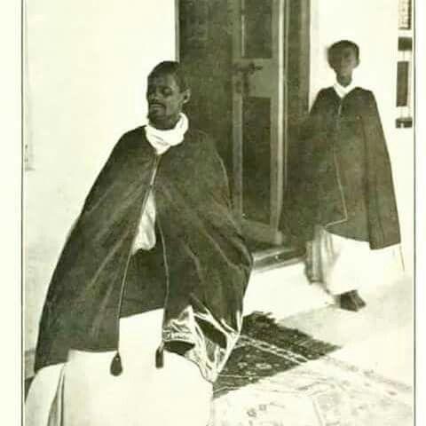 Ras Makonnen and his son Tafari | Historical figures, Historical, Haile selassie