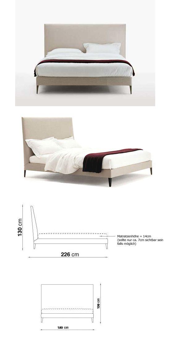 maxalto bed, rodolfo dordoni CAMAS MODERNAS Pinterest Camas - camas modernas