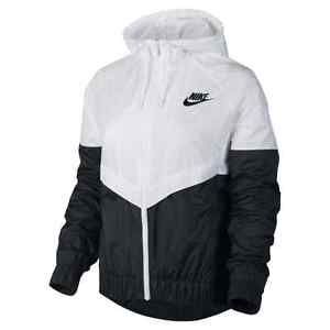 nike windrunner womens jacket windbreaker hoodie pink white rabbit