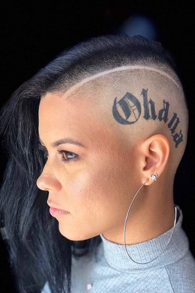 Star Shaved Hair Design