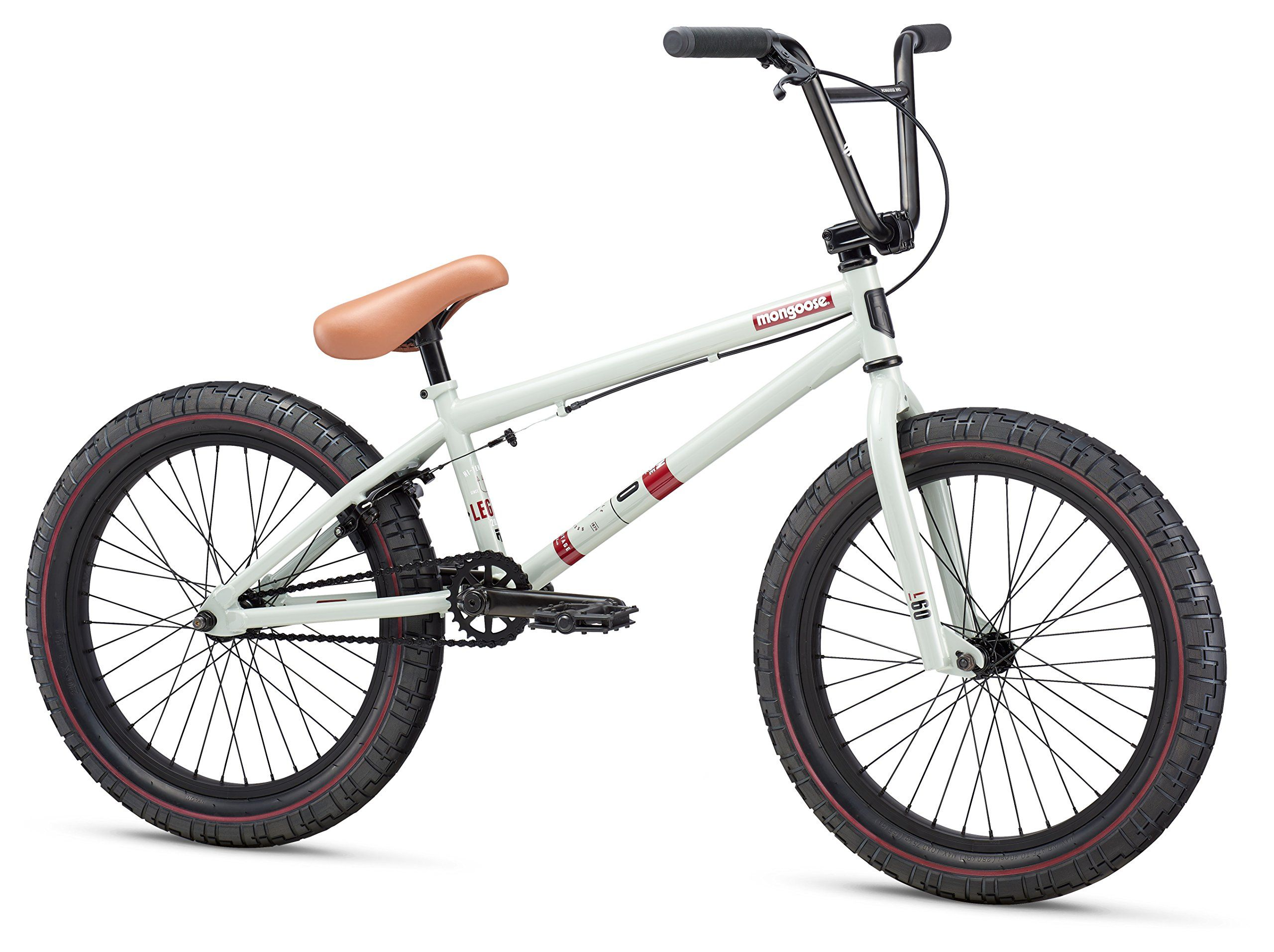 Mongoose Legion L60 20 Wheel Freestyle Bike Clay One Size Mongoose Hi Ten Bmx Steel Frame And Fork Is Ready For Action Bmx Bikes Mongoose Bmx Bmx Bike Shop