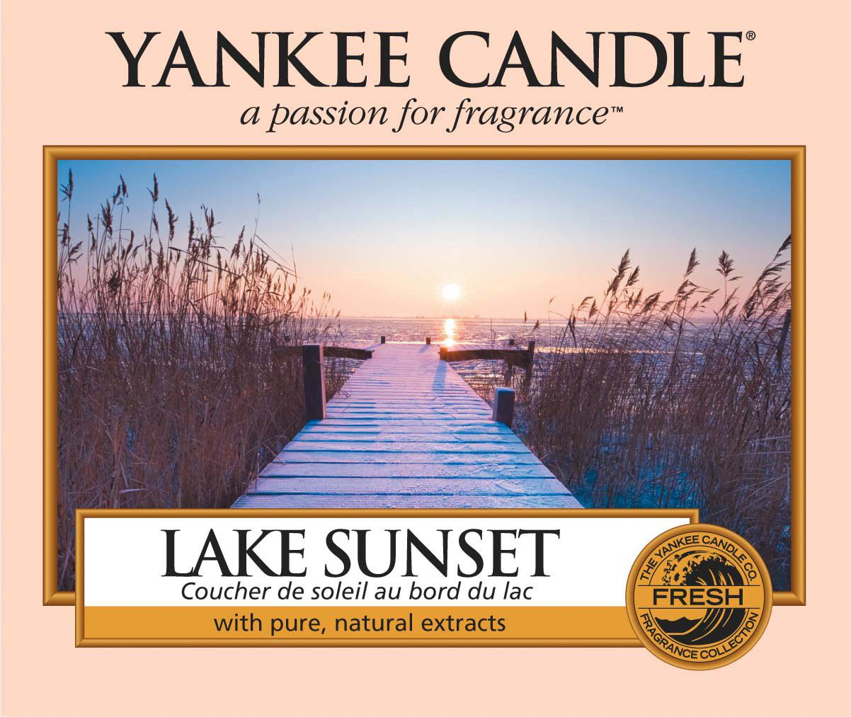Dolls House Miniature 1:12th Scale accessory Yankee Candle Lake Sunset