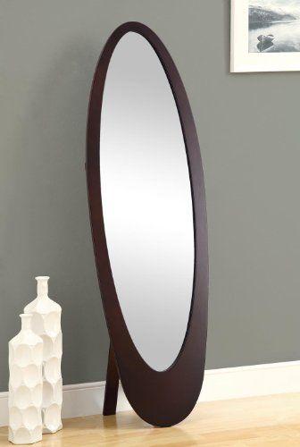 Cappuccino Contemporary Oval Cheval Mirror FurnitureMaxx http://www.amazon.com/dp/B00BTI75P0/ref=cm_sw_r_pi_dp_kpnkub11SCFDN