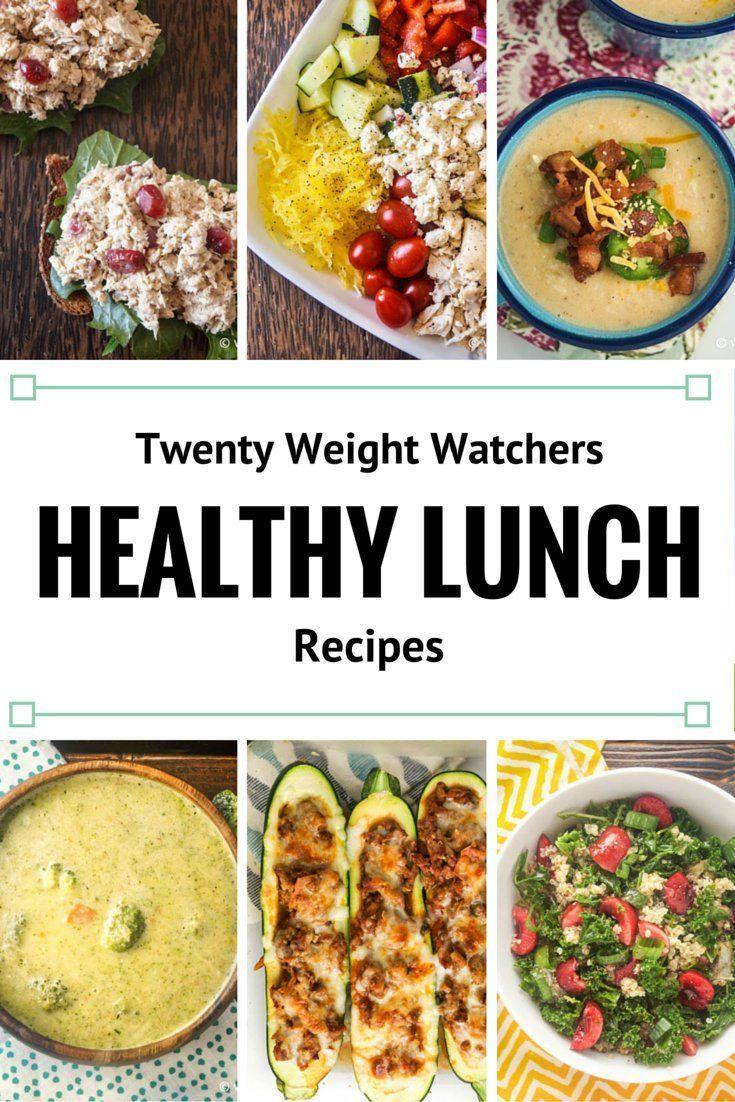 Twenty Weight Watchers Recipes for Lunch   Slender kitchen, Weight ...
