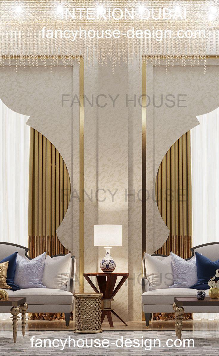 Arabic Interiors Ideas in Modern Moroccan Style. Luxury interior ...