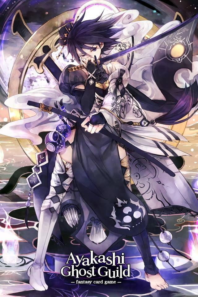 Ayakashi Ghost Guild Wallpaper Juegos De Cartas Fantasmas Kawaii